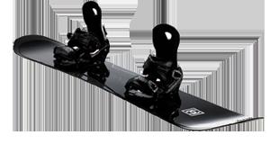 Freeride Snowboard - Shape Prisoner Black
